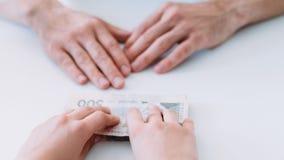 De lenings van het bedrijfs financiële steungeld sponsoring royalty-vrije stock foto