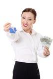 De leningsconcept van onroerende goederen Royalty-vrije Stock Foto's