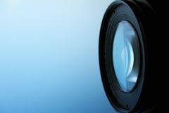 De lens van de camera stock afbeelding