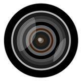 De lens van de camera Royalty-vrije Stock Afbeelding
