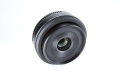 De lens van de camera Stock Foto