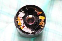 De lens van de camera Stock Fotografie