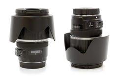 De lens van de Dslrcamera Stock Afbeeldingen