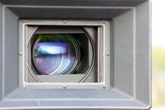 De Lens van de filmcamera Stock Afbeeldingen