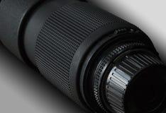 De lens van de fotocamera Stock Afbeelding