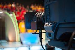 De studiocamera van de televisie stock fotografie