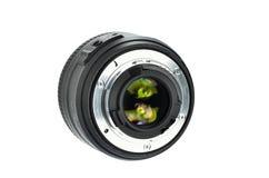 De lens van Dslr Stock Foto's