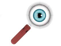 De lens van het oog vector illustratie