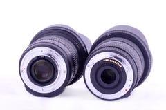 De lens zet op Royalty-vrije Stock Afbeeldingen