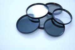 De lensfilters van de camera Stock Afbeelding