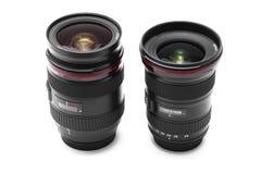 De lenslenzen van de camera stock fotografie
