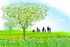 De lente is  Stock Afbeeldingen