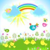 De lente Royalty-vrije Stock Afbeeldingen