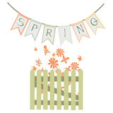 De lente stock illustratie