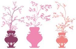 De lente bloeit decor stock illustratie