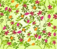 De lente bloeit Vectorillustratie Stock Afbeelding