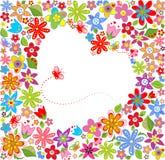 De lente bloemenkader royalty-vrije illustratie