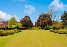De lente in de botanische tuin van Kew, Londen, het UK royalty-vrije stock afbeeldingen
