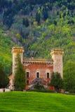 De lente Castel Royalty-vrije Stock Afbeeldingen