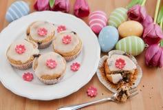 De lente Cupcakes royalty-vrije stock afbeelding