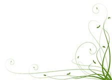 De lente - de Achtergrond van Zaailingen Royalty-vrije Stock Foto