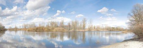 De lente in de Oekraïne Stock Afbeelding