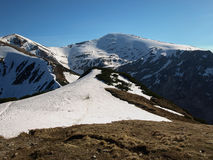de lente in de Tatra-Bergen Stock Afbeeldingen