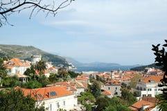 De lente in Dubrovnik, Kroatië Royalty-vrije Stock Fotografie