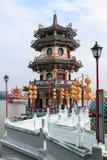 De lente en Autumn Pavilions, Lotus Pond, Kahosiung royalty-vrije stock foto