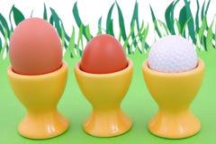 De lente en golf Stock Foto's