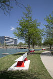 De lente Frisco TX van Nice Hall Park Stock Fotografie