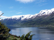 De lente in Hardanger 2 Royalty-vrije Stock Foto