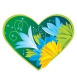 De lente Heart_d Stock Afbeeldingen