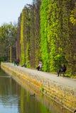 De lente in het Park Oliwski, Gdansk Royalty-vrije Stock Foto's