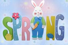 De lente is hier stock illustratie