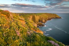 De lente in Ierland Royalty-vrije Stock Afbeelding