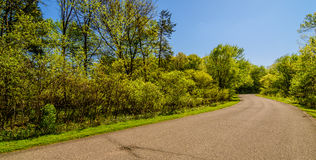 De lente in Iowa Royalty-vrije Stock Afbeeldingen