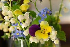 De lente kleine bloemen stock fotografie