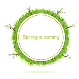 De lente komt Stock Fotografie