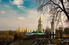 De lente Kyiv royalty-vrije stock afbeeldingen