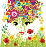 de lente meisje Royalty-vrije Stock Afbeelding