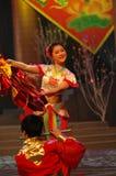 De lente meisje-2007 Jiangxi-het Feest van het de Lentefestival Stock Afbeeldingen