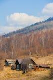 De lente op Road circum-Baikal aan het zuiden van Meer Baikal Royalty-vrije Stock Afbeeldingen