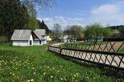 De lente in Oud Dorp Stock Foto