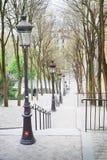 De lente in Parijs Royalty-vrije Stock Afbeeldingen