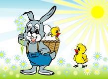De lente, Pasen Stock Foto's