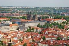 De lente in Praag Tsjechische Republiek Berounheuvel Royalty-vrije Stock Fotografie