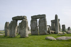 De lente in Stonehenge stock fotografie