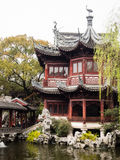 De lente in traditionele Chinese tuin Royalty-vrije Stock Afbeelding