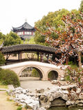 De lente in traditionele Chinese tuin Royalty-vrije Stock Afbeelding